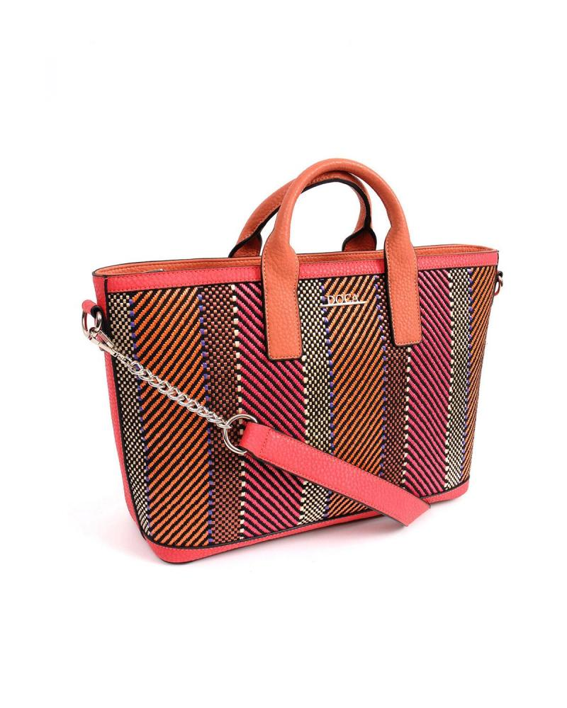 Multi color handbag