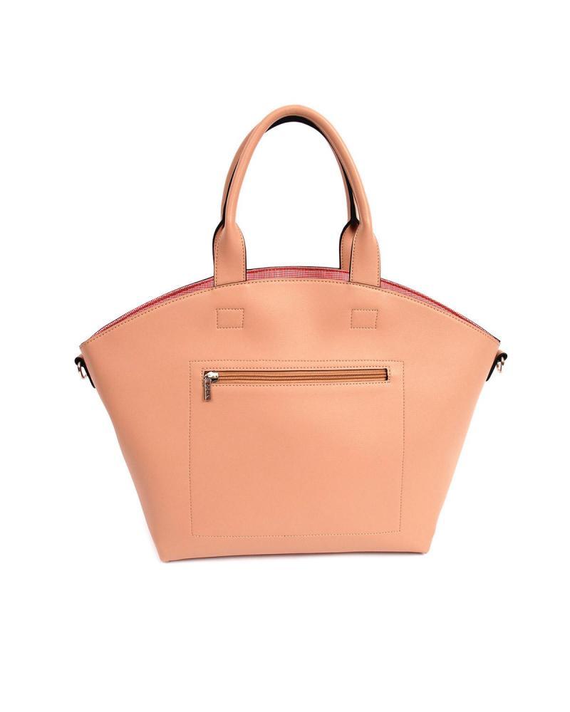Handtasche beige