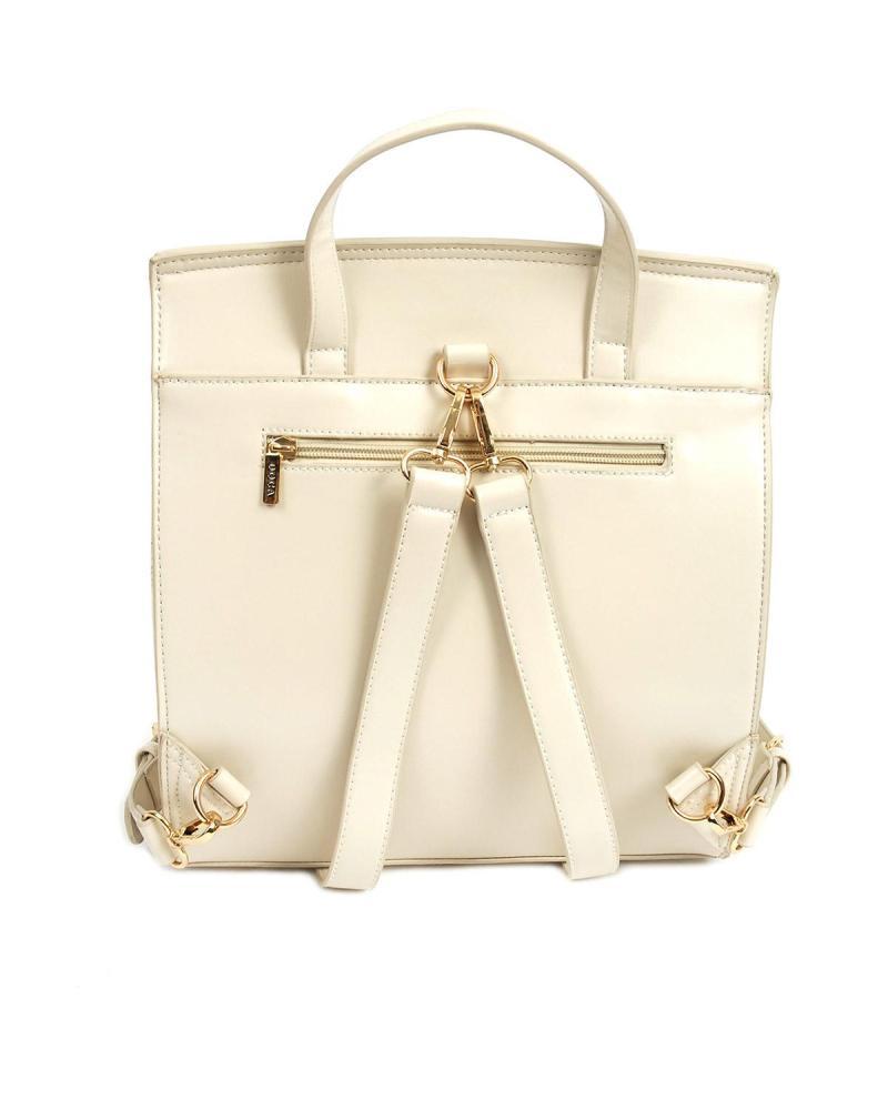 Beige backpack