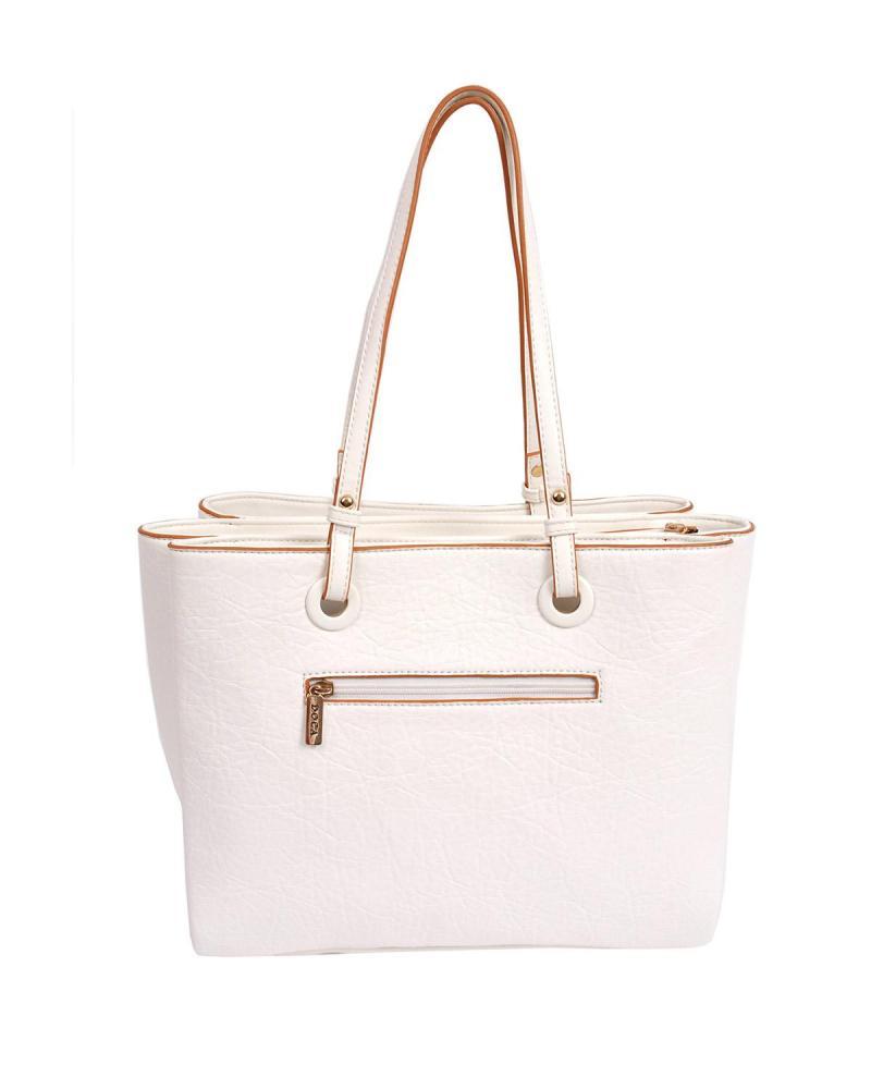 Καθημερινή τσάντα άσπρη