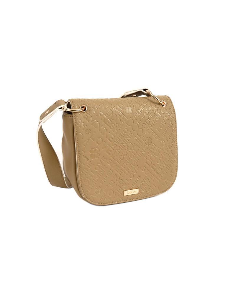 Τσάντα χιαστί χακί