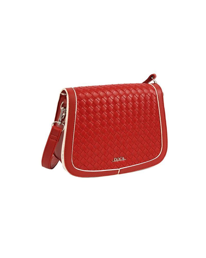 Τσάντα χιαστί κόκκινη