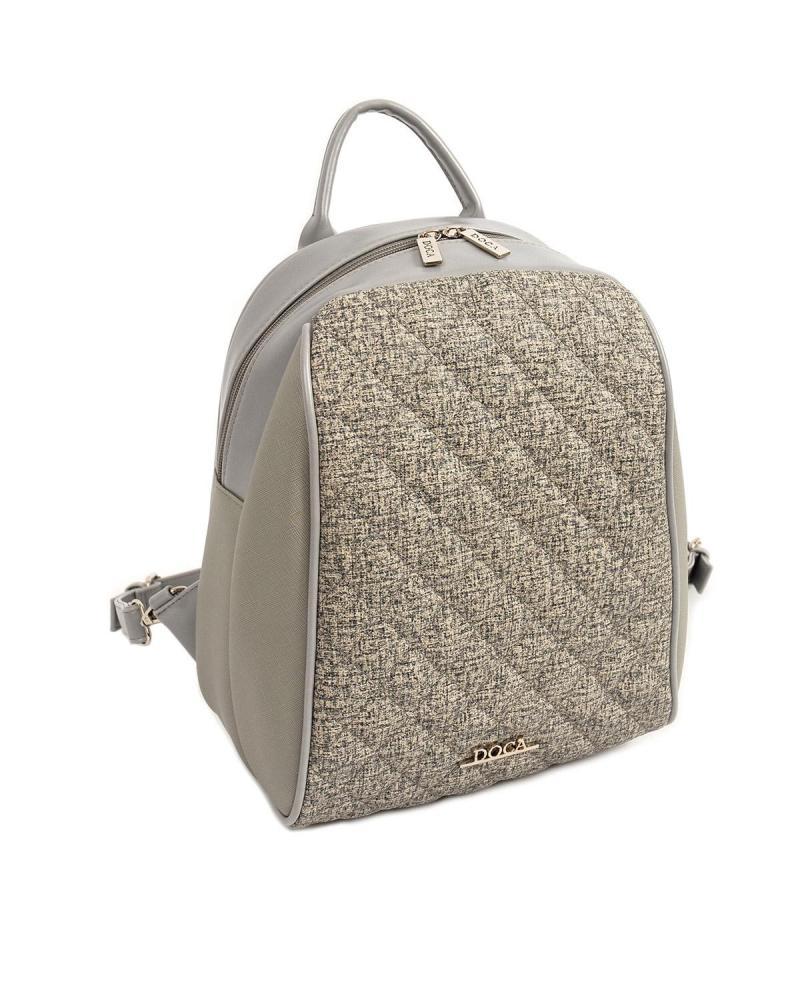 Τσάντα πλάτης γκρι