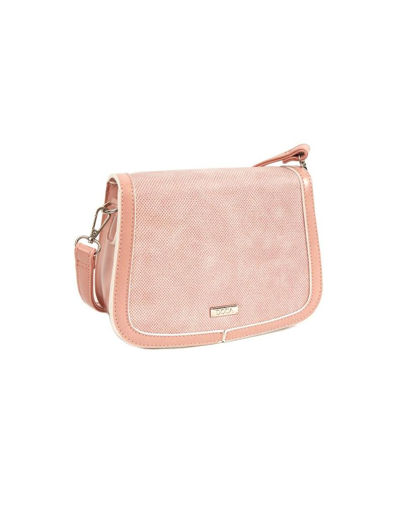 Pink cross body bag