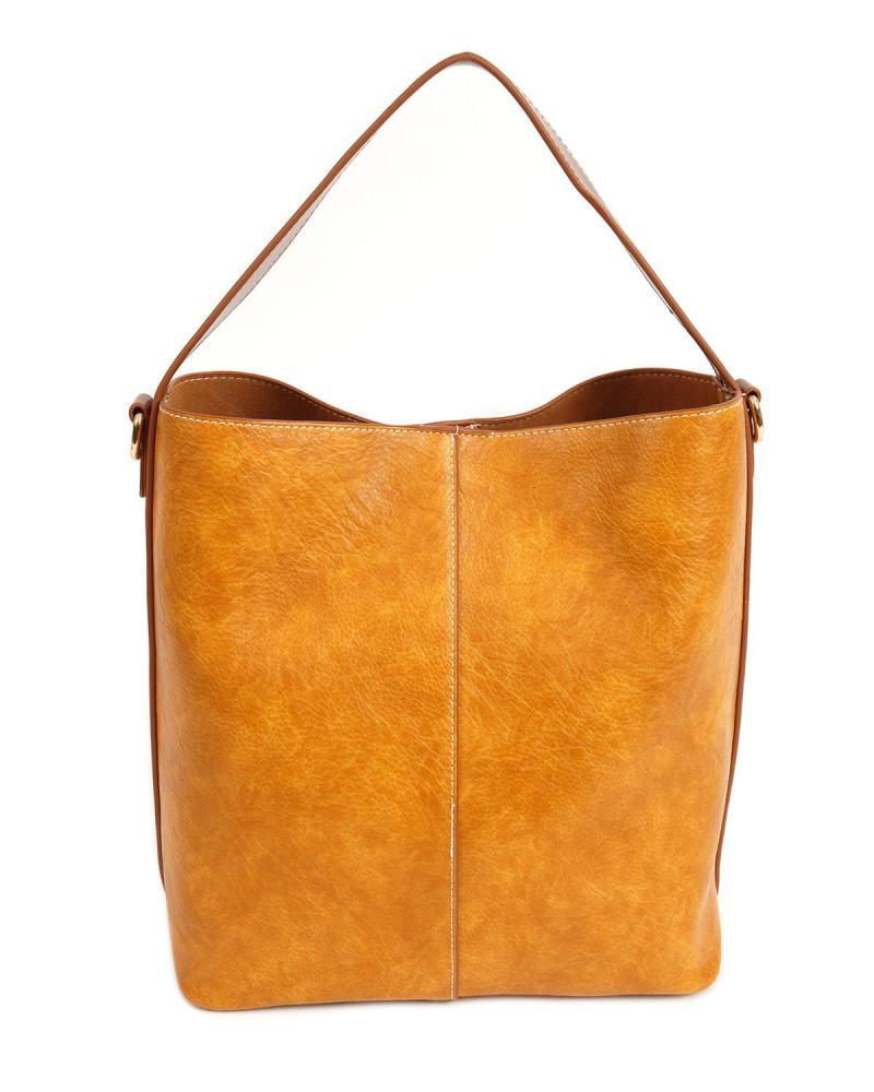 Καθημερινή τσάντα κάμελ