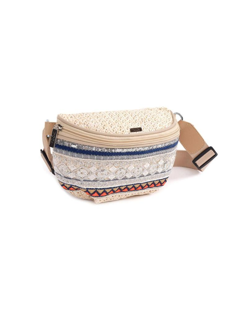 Ecru belt bag
