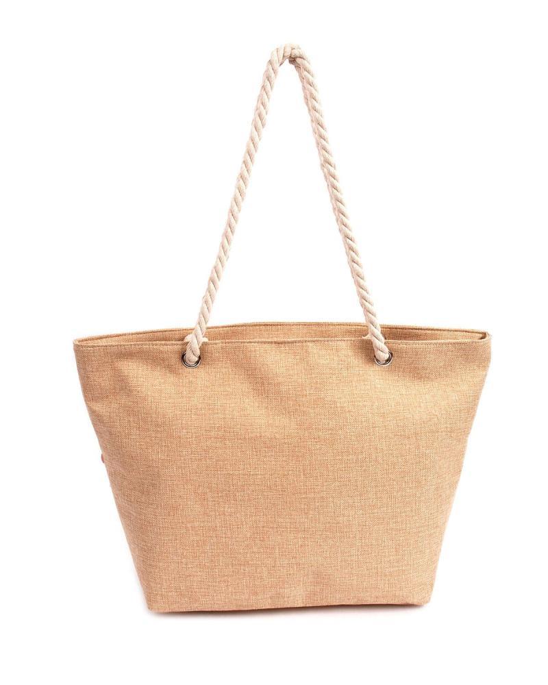 White beach bag