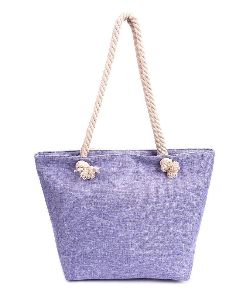 Τσάντα θαλάσσης μωβ