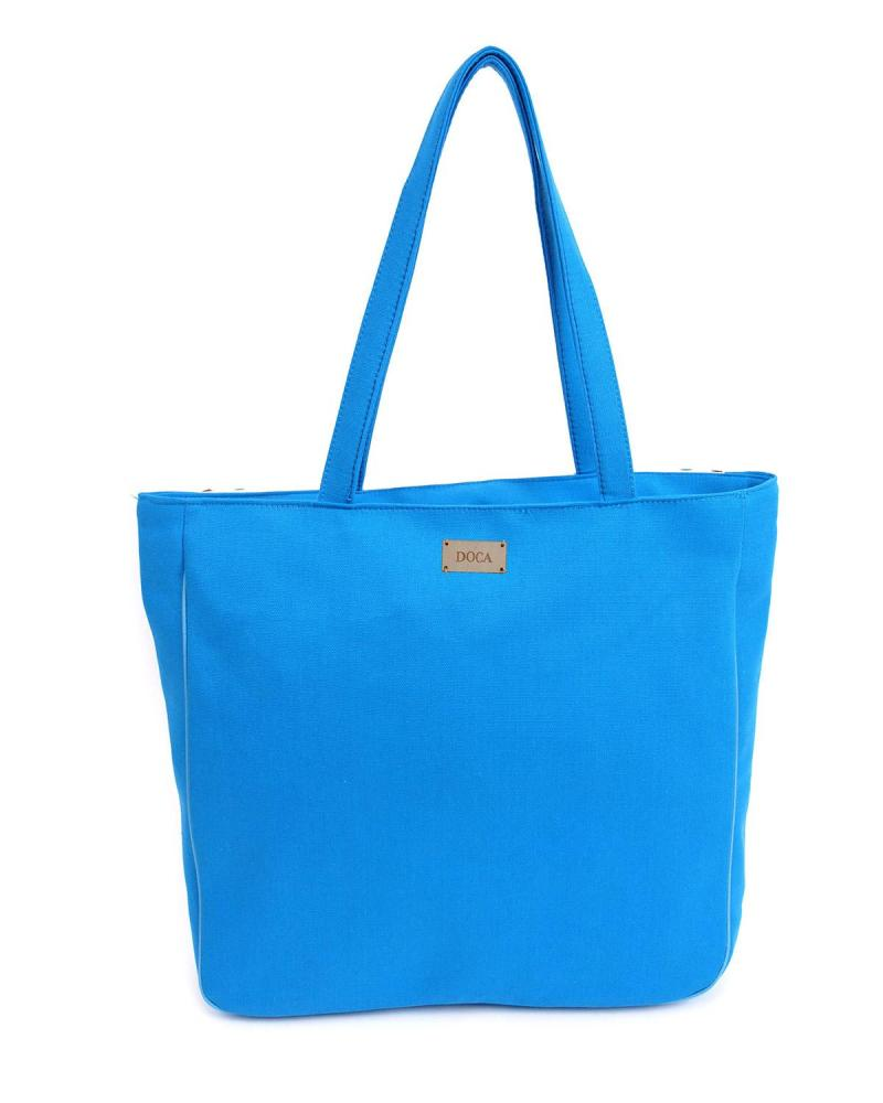 Light blue beach bag