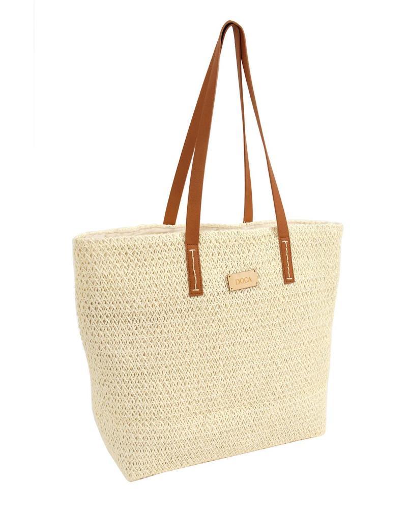 Τσάντα θαλάσσης εκρού