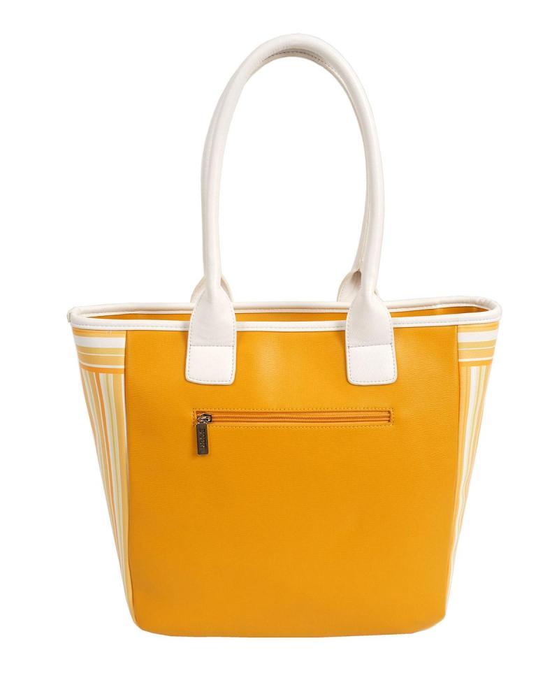 Καθημερινή τσάντα κίτρινη
