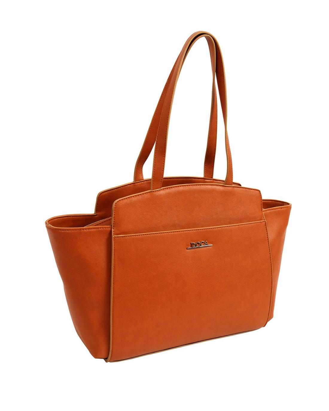 Handtasche orange