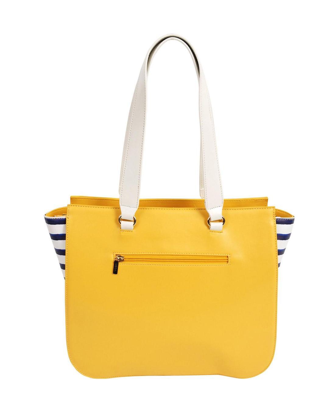 Handtasche gelb