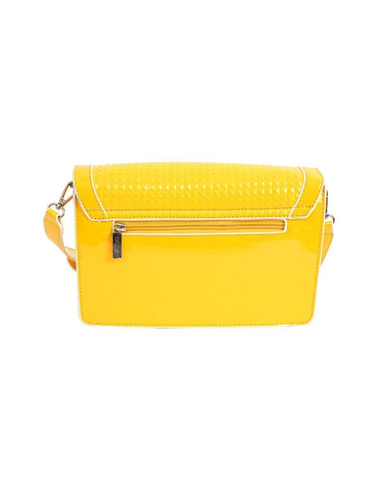 Umhängetasche gelb