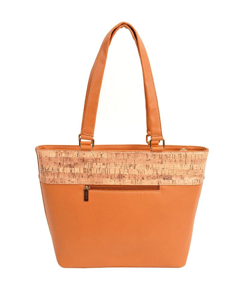 Handtasche orange
