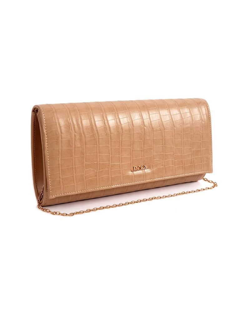 Τσάντα φάκελος μπεζ