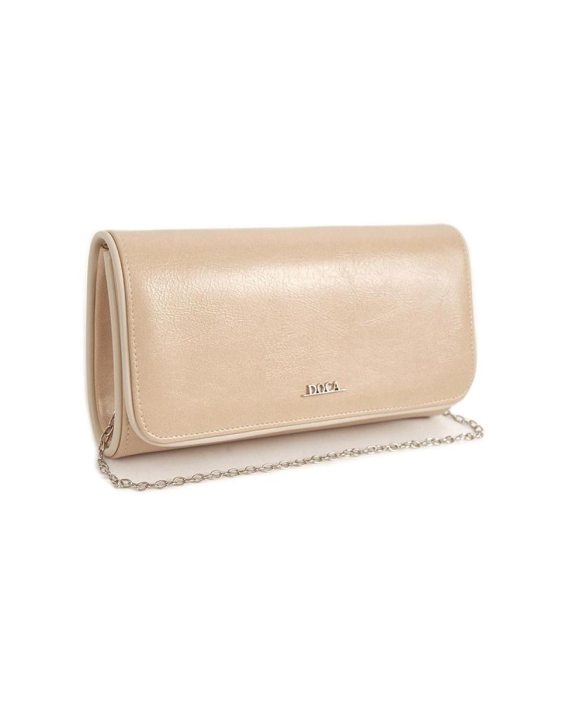 Ecru envelope bag