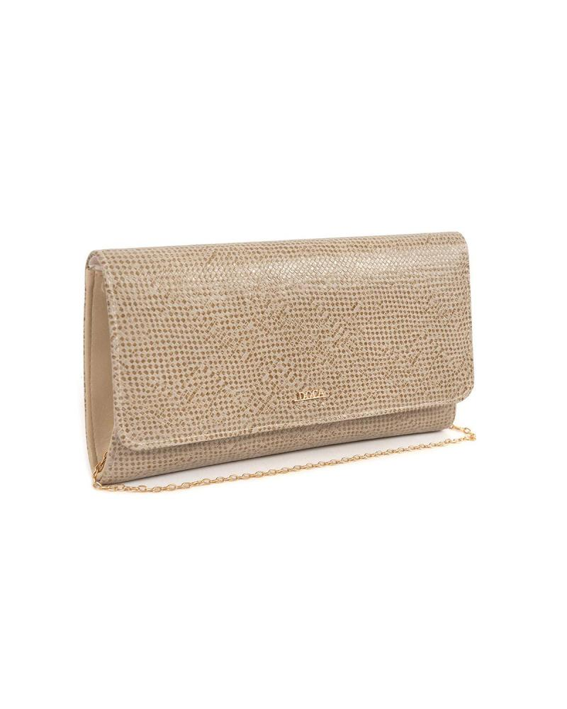 Beige envelope bag
