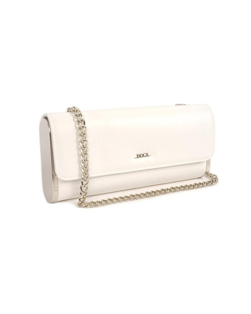 Τσάντα φάκελος άσπρη