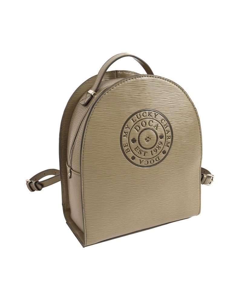Khaki backpack
