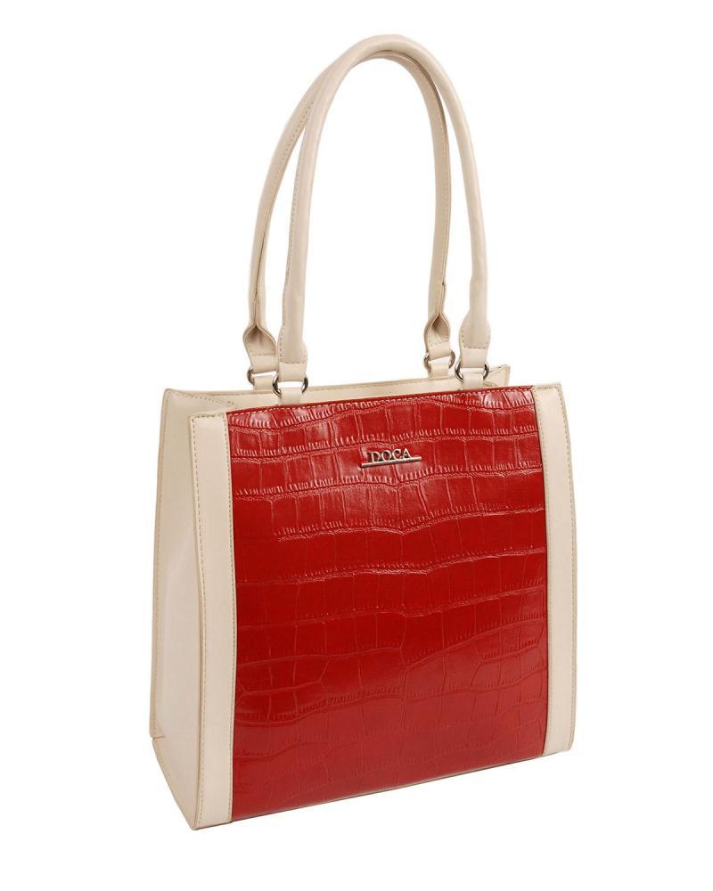 Καθημερινή τσάντα κόκκινη