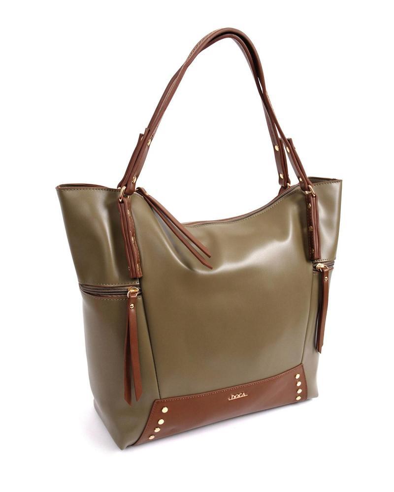 Καθημερινή τσάντα χακί