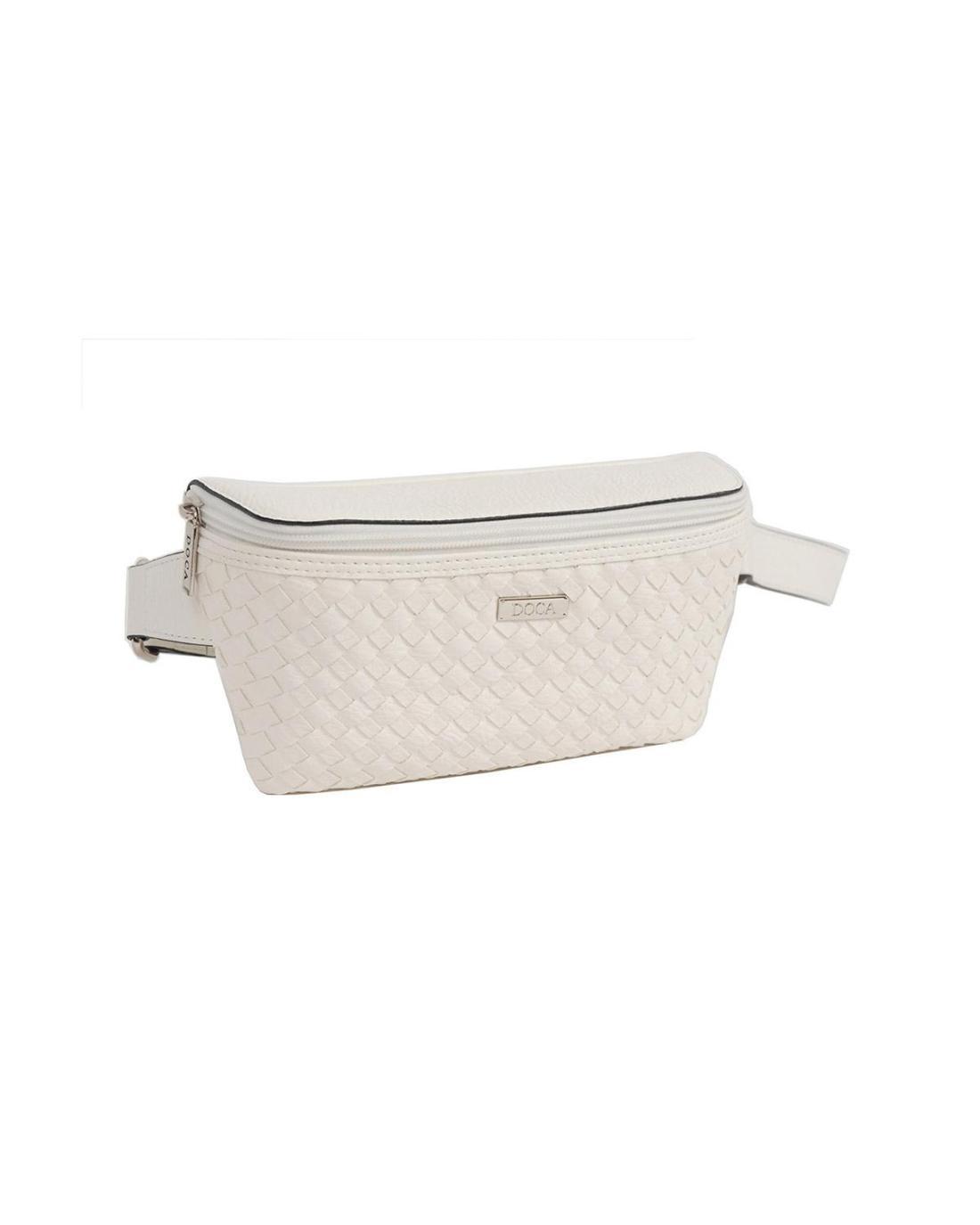 White belt bag