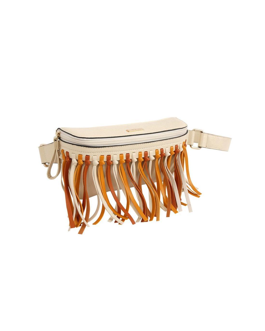 Ecru belt bag