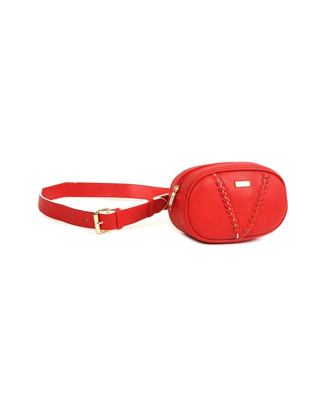 Red belt bag