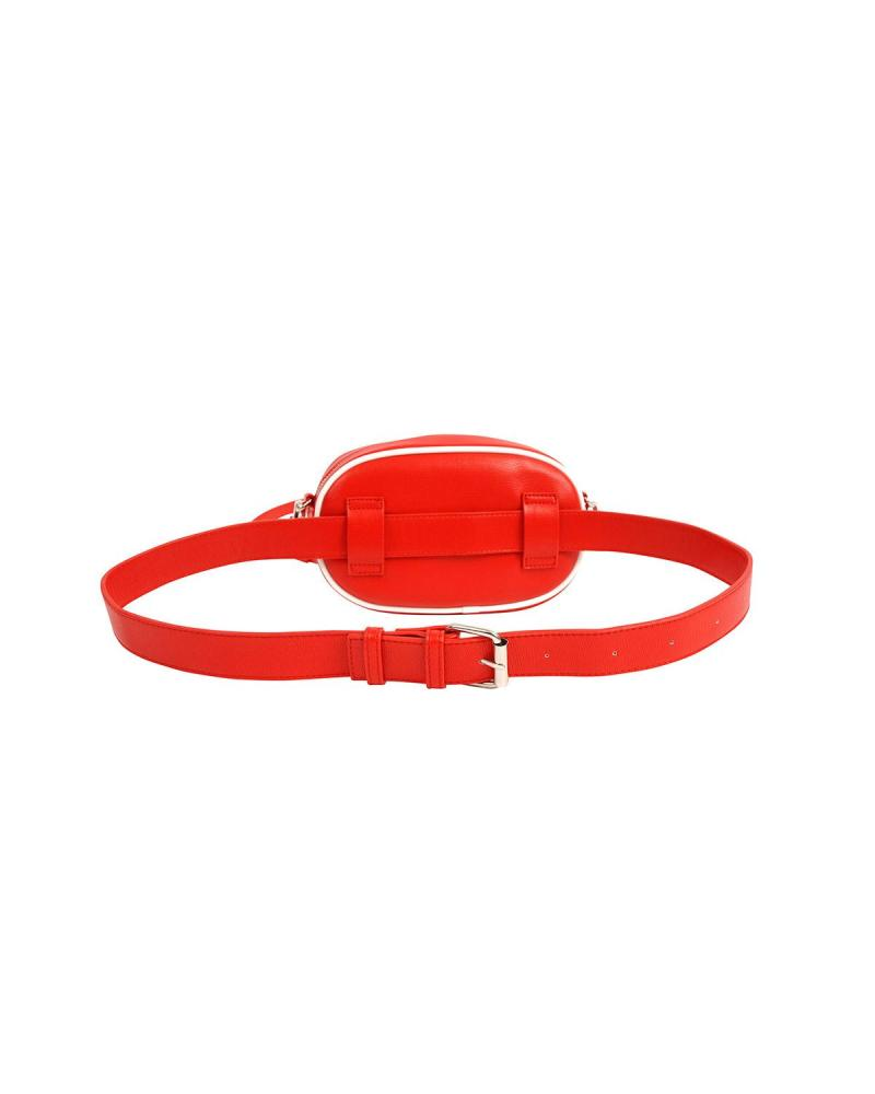 Red belt bag