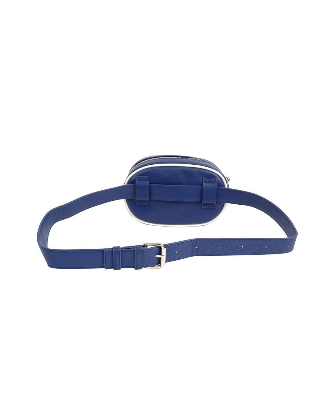 Blue belt bag