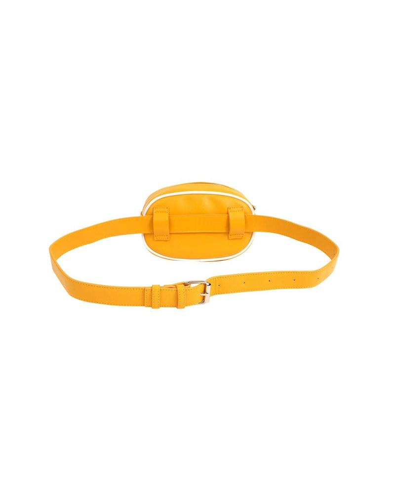 Yellow belt bag