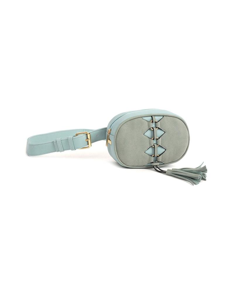 Light blue belt bag