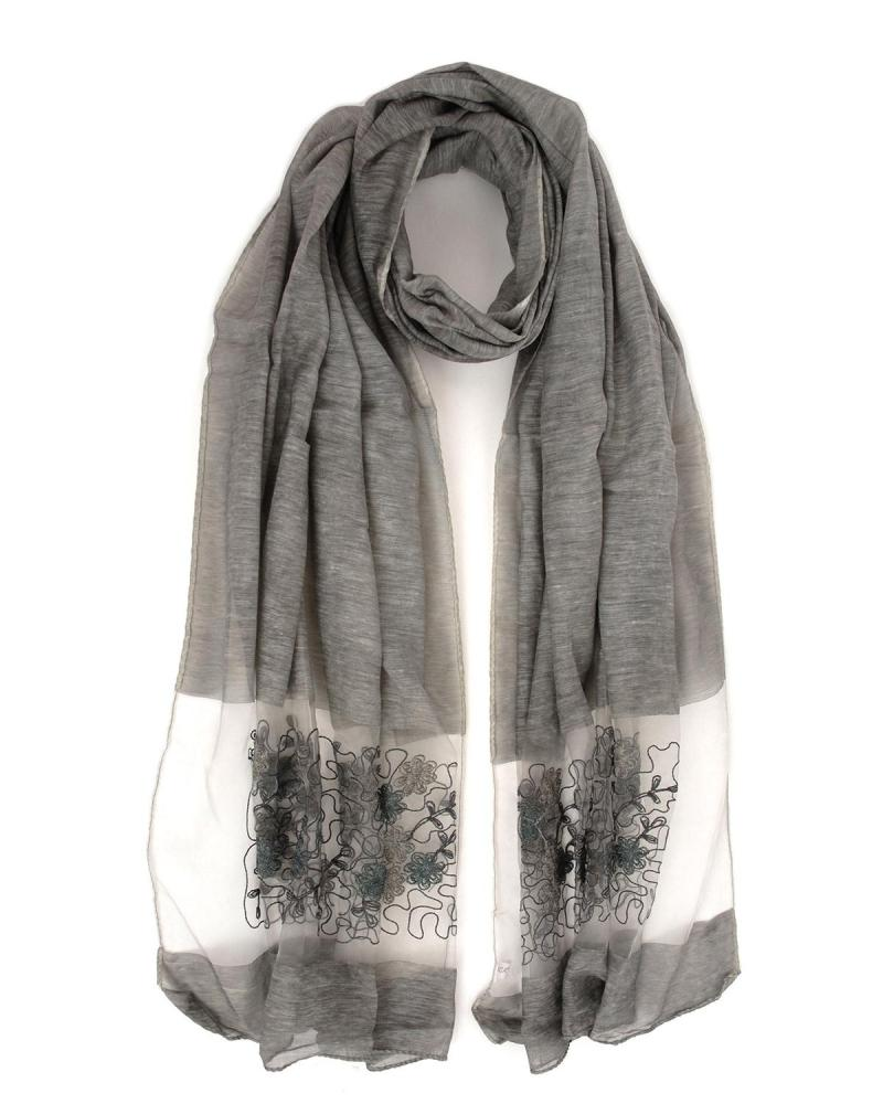 Grey stole