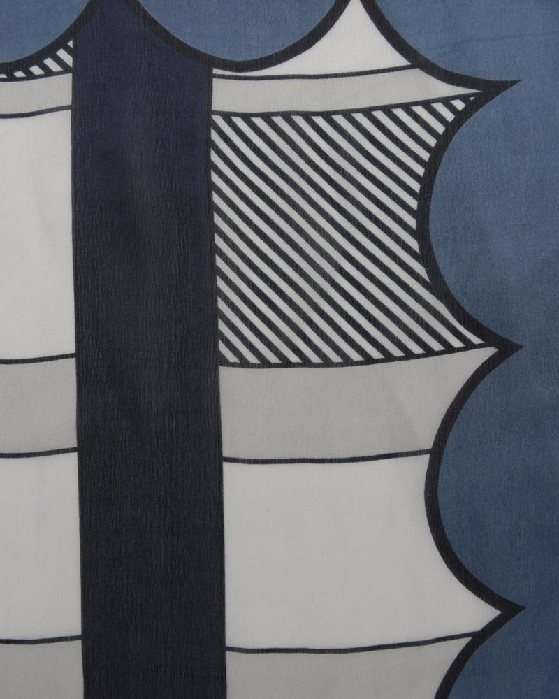 Foulard blau