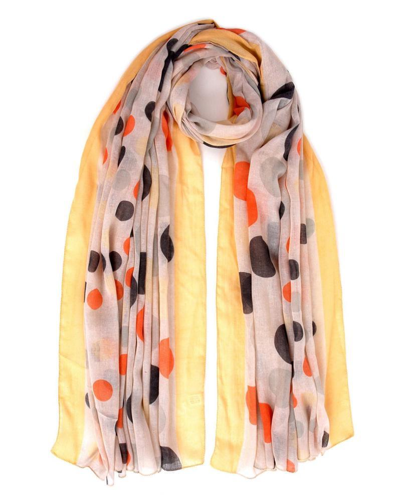 Yellow foulard