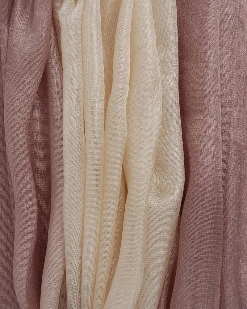 Ecru foulard