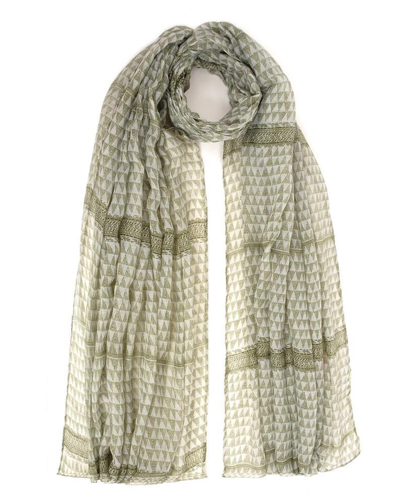 Green foulard
