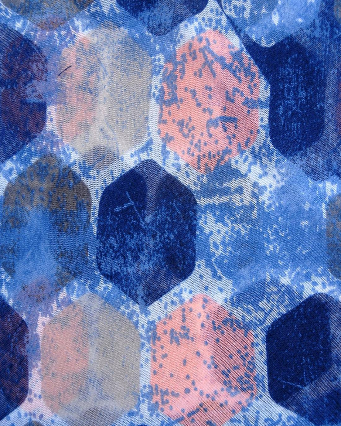 Φουλάρι μπλε