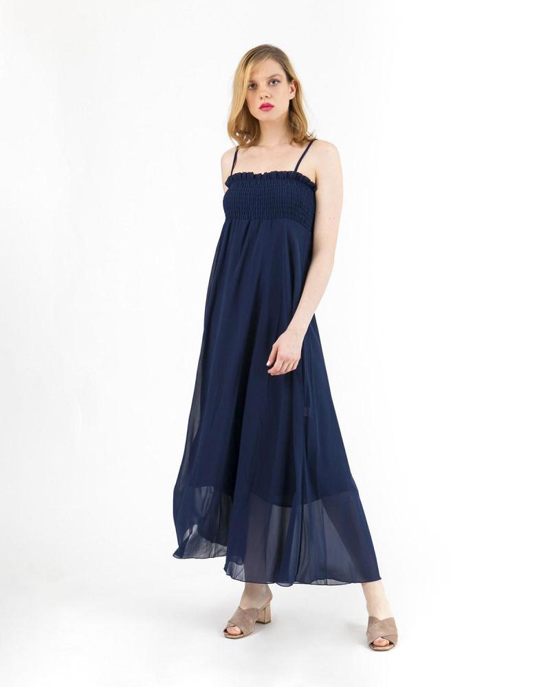 Blaues Kleid