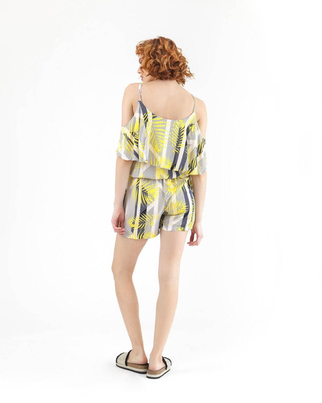 Ολόσωμη φόρμα κίτρινη