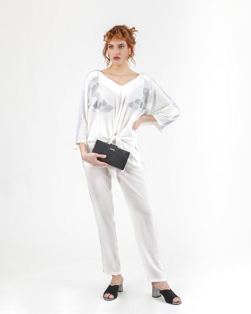Παντελόνι άσπρο