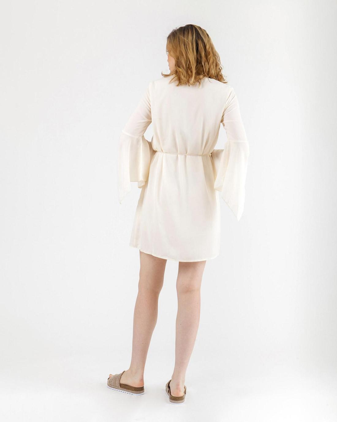 Ekrü Kleid