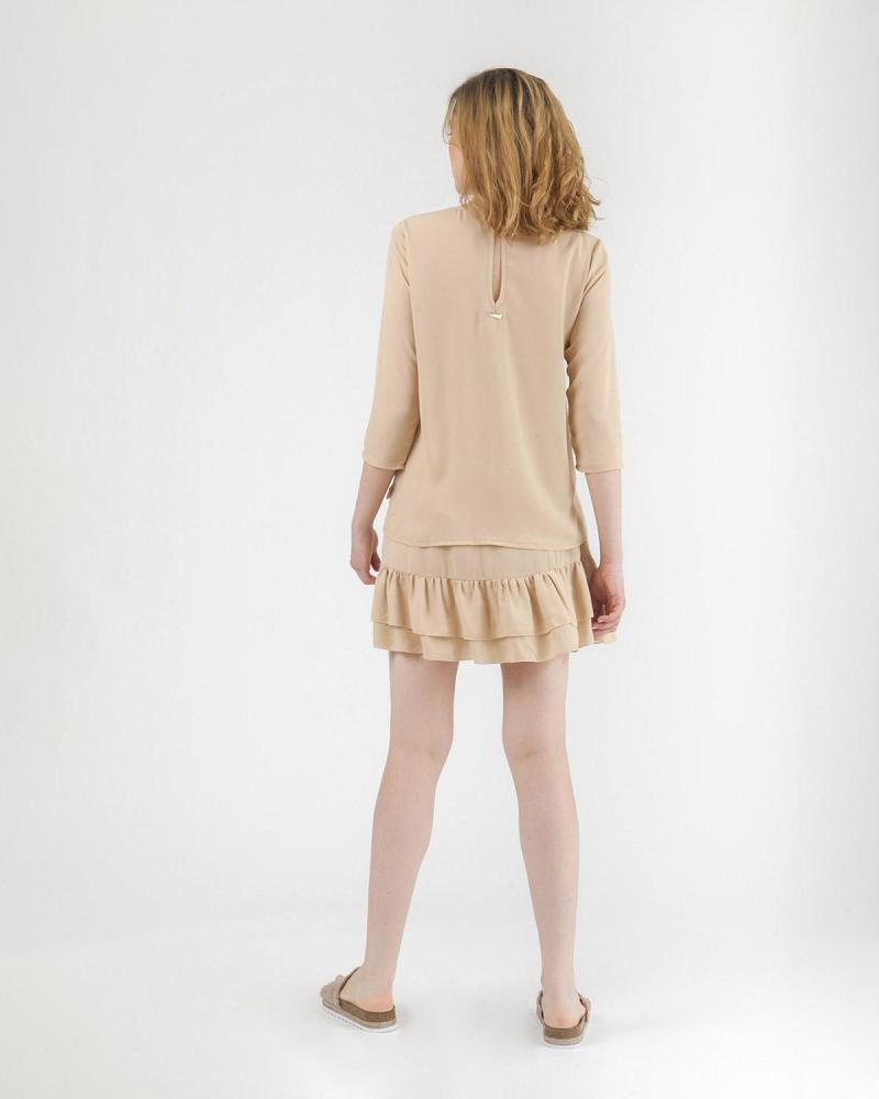 Beige Bluse