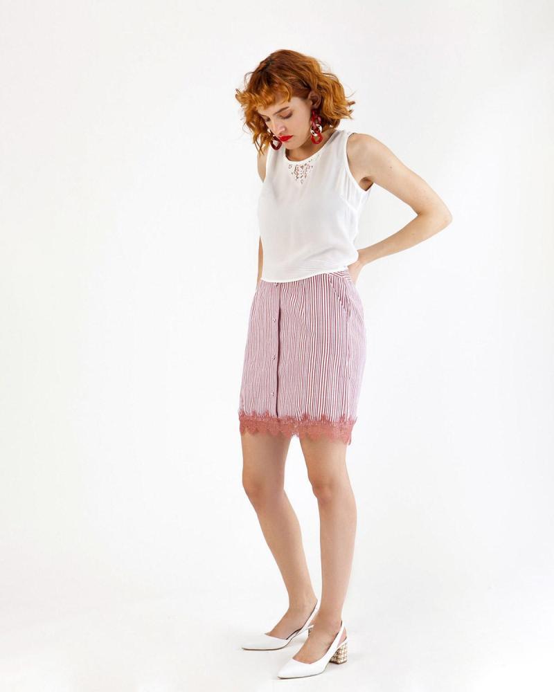Φούστα ροζ