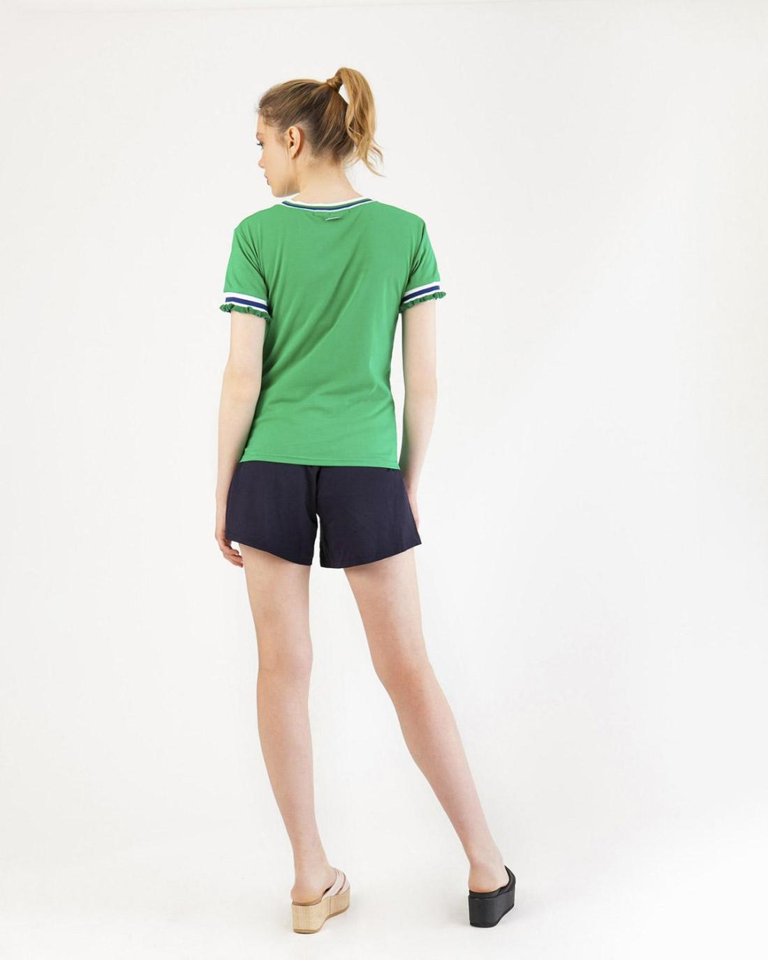Grüne Bluse