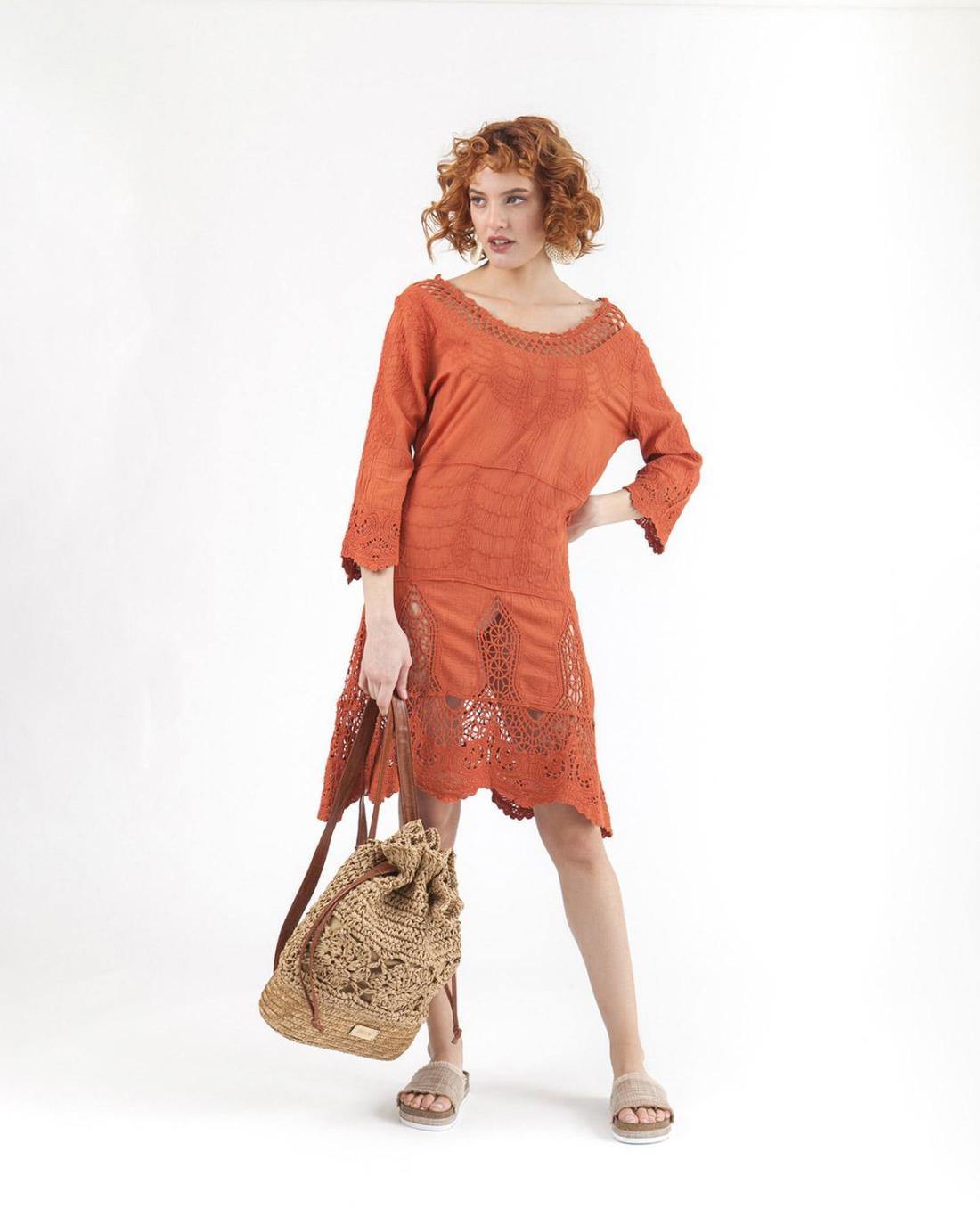 Bordeaux Kleid