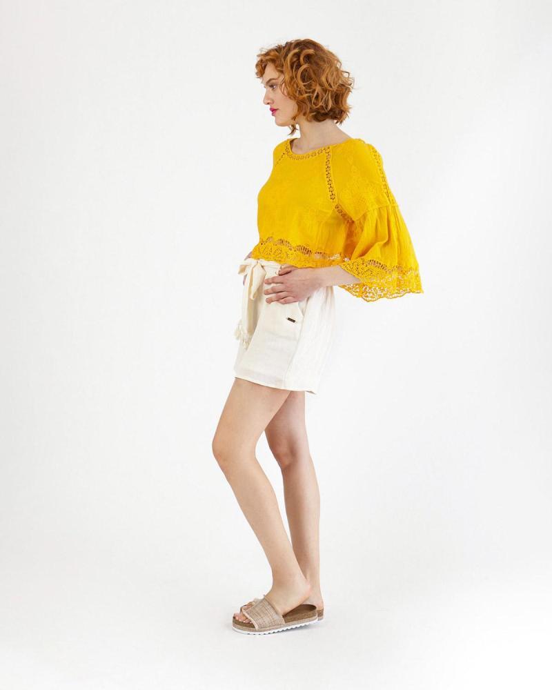 Μπλούζα κίτρινη