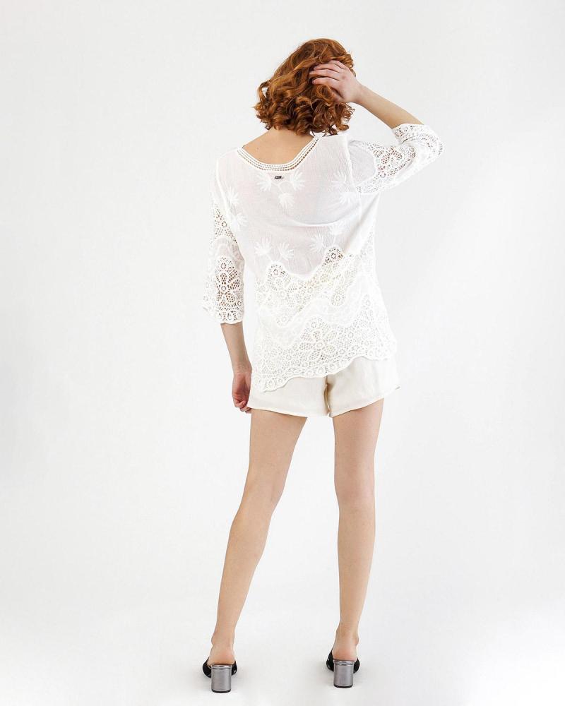 Ecru blouse