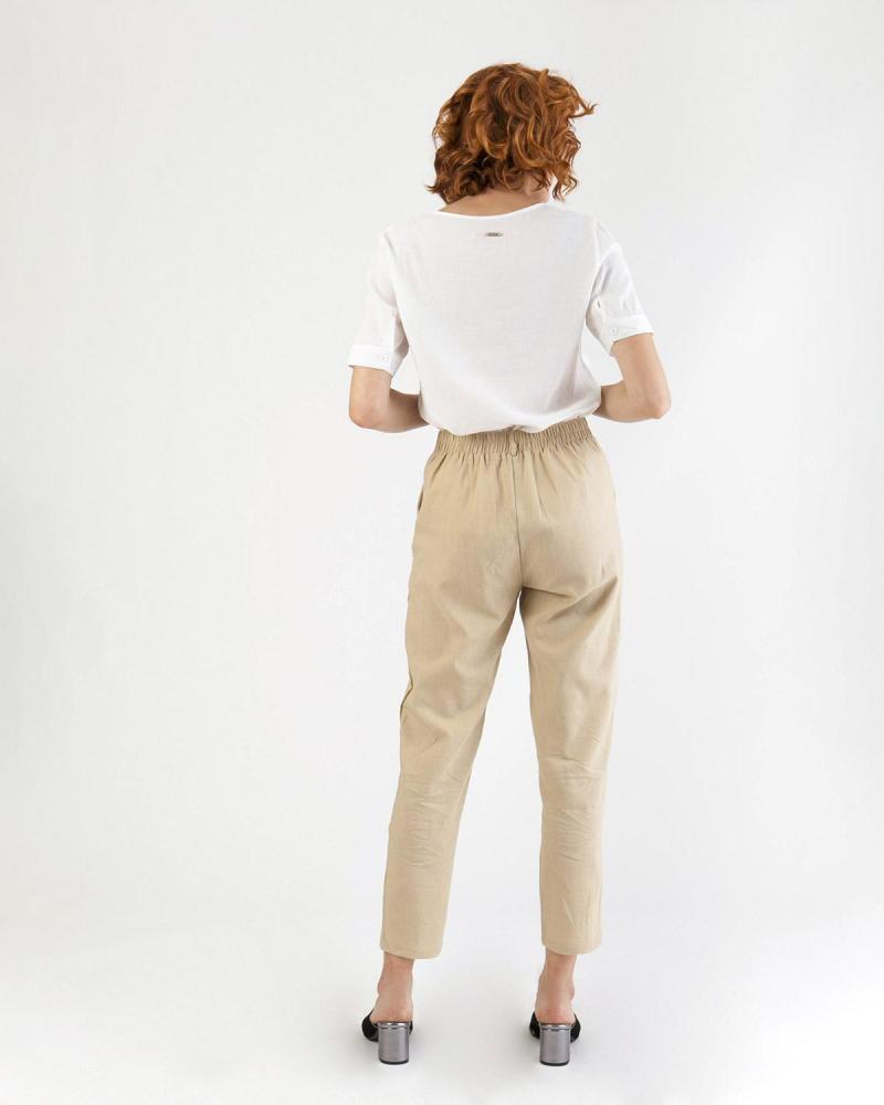 Παντελόνι μπεζ